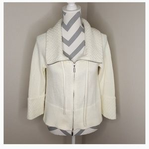 White House Black Market Sweaters - WHBM Cream Colores Knitted Sweater